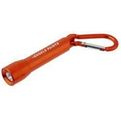 View a larger, more detailed picture of the Lightning Carabiner Flashlight - Closeout