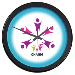 View a larger, more detailed picture of the Full Color Wall Clock - 14