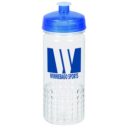 View a larger, more detailed picture of the PolySure Out of the Block Water Bottle - 16 oz - Clear
