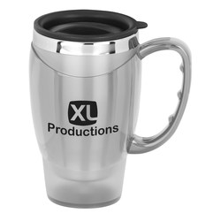 View a larger, more detailed picture of the Easy Grip Mug - 21 oz - Closeout