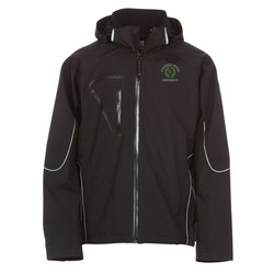 View a larger, more detailed picture of the Cutter & Buck Weathertec Glacier Jacket - Men s
