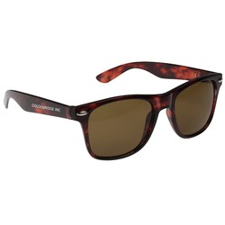 View a larger, more detailed picture of the Risky Business Sunglasses - Tortoise - 24 hr