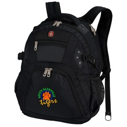 View a larger, more detailed picture of the Wenger Edge Laptop Backpack - Embroidered