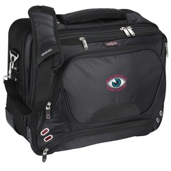 View a larger, more detailed picture of the elleven Checkpoint-Friendly Wheeled Laptop Case - Emb
