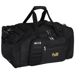 View a larger, more detailed picture of the Kenneth Cole Tech Travel Duffel Bag - Embroidered
