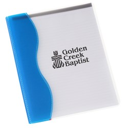 View a larger, more detailed picture of the Ripple Padfolio - Screen - Closeout