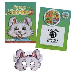 View a larger, more detailed picture of the Coloring Book w Mask - Fun with Nutrition