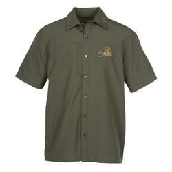 View a larger, more detailed picture of the Charge Recycled Polyester Performance Shirt - Men s