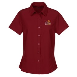 View a larger, more detailed picture of the Charge Recycled Polyester Performance Shirt - Ladies