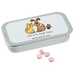 View a larger, more detailed picture of the Slider Tin with Sugar Free Mints