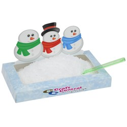 View a larger, more detailed picture of the Snowmen Snowscape Box