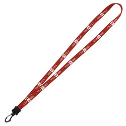 View a larger, more detailed picture of the Lanyard - 1 2 - 32 - Plastic Swivel Snap Hook