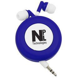 View a larger, more detailed picture of the Push Button Retractable Ear Buds