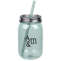 View a larger, more detailed picture of the Vintage Mason Jar - 24 oz