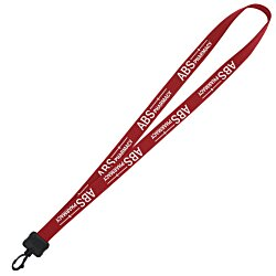 View a larger, more detailed picture of the Stretchy Elastic Lanyard - 3 4 - 34 - Pl Swivel Snap Hook