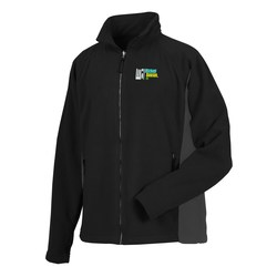 View a larger, more detailed picture of the Katahdin Tek Colorblock Fleece Jacket - Men s - 24 hr