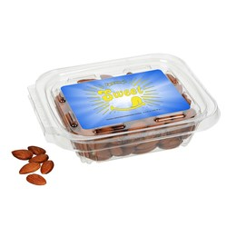 View a larger, more detailed picture of the Rectangle Snack Pack - Roasted Almonds