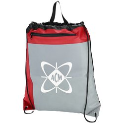 View a larger, more detailed picture of the Field Day Drawstring Sportpack - Closeout
