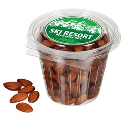 View a larger, more detailed picture of the Round Snack Pack - Roasted Almonds