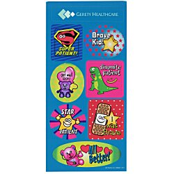 View a larger, more detailed picture of the Super Kid Sticker Sheet - Doctor Visit