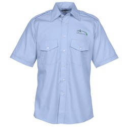 View a larger, more detailed picture of the Short Sleeve Navigator Shirt - Men s