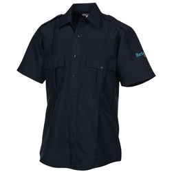 View a larger, more detailed picture of the Polyester Short Sleeve Security Shirt