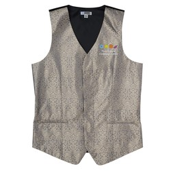 View a larger, more detailed picture of the Paisley Brocade Vest - Men s