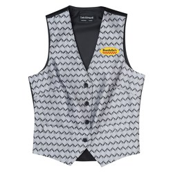 View a larger, more detailed picture of the Swirl Brocade Vest - Ladies