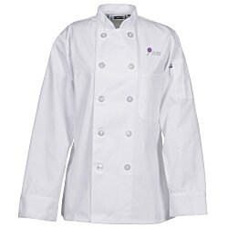 View a larger, more detailed picture of the Ten Button Chef Coat - Ladies
