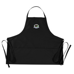 View a larger, more detailed picture of the E-Z Slide Bib Apron with Three Pockets