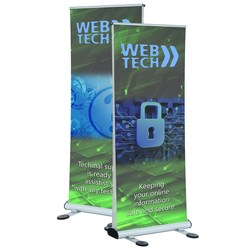 View a larger, more detailed picture of the Four Season Trek Outdoor Double Sided Retractor Banner