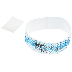 View a larger, more detailed picture of the Full Color Tyvek Bracelet