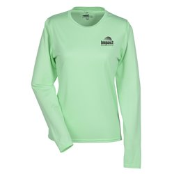 View a larger, more detailed picture of the Boston LS Training Tech Tee - Ladies