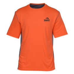 View a larger, more detailed picture of the Boston Color Block Training Tech Tee - Men s