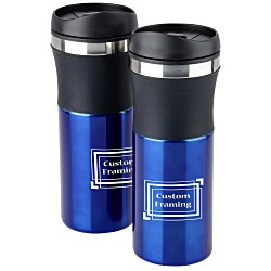 View a larger, more detailed picture of the Malmo Travel Tumbler Set - 16 oz
