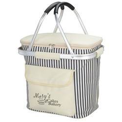 View a larger, more detailed picture of the Cape May Foldaway Picnic Cooler - 24 hr