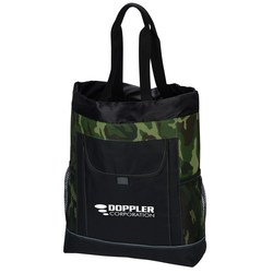 View a larger, more detailed picture of the Transitions Backpack Tote - Camo