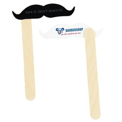 View a larger, more detailed picture of the Mustache on a Stick - Vaudeville
