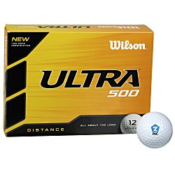 View a larger, more detailed picture of the Wilson Ultra Golf Ball - Dozen - Quick Ship