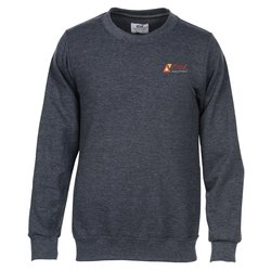 View a larger, more detailed picture of the Anvil French Terry Crew Sweatshirt - Men s