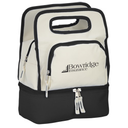 View a larger, more detailed picture of the Color Dip Dual Compartment Lunch Cooler