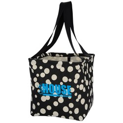 View a larger, more detailed picture of the Utility Tote - 12-1 2 x 11 - Bubble Explosion - 24 hr