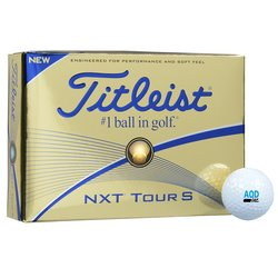 View a larger, more detailed picture of the Titleist NXT Tour S Golf Ball - Dozen - Quick Ship