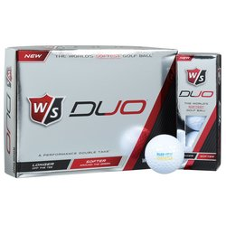 View a larger, more detailed picture of the Wilson Duo Golf Ball - Dozen - Quick Ship