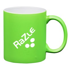 View a larger, more detailed picture of the Neon Ceramic Mug - 11 oz