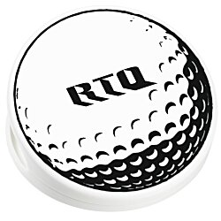 View a larger, more detailed picture of the Keep-it Clip - Golf Ball - Opaque