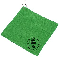 View a larger, more detailed picture of the Microfiber Golf Towel