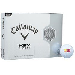 View a larger, more detailed picture of the Callaway HEX Chrome Golf Ball - Dozen - Standard Ship