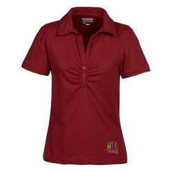 View a larger, more detailed picture of the Meshback Dri-Balance Chelsea Polo - Ladies