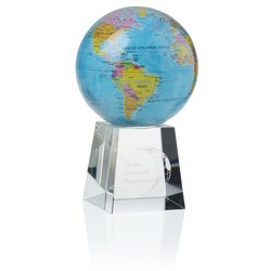 View a larger, more detailed picture of the Mova Globe Award - Blue